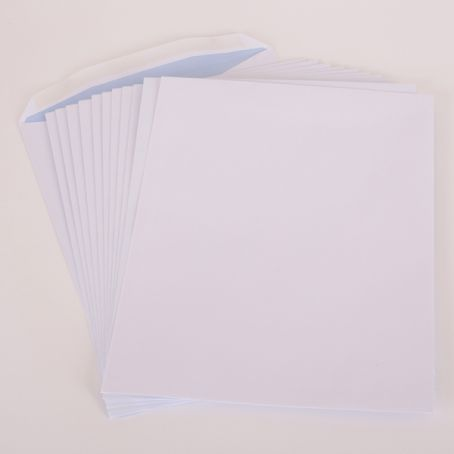 310x238mm white non-window gummed pocket envelopes (Pack of 1,000)