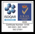 ISO 9001, 14001, 27001 accreditations