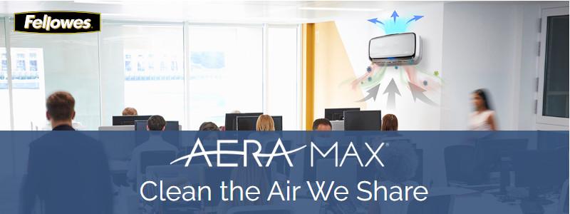 Fellowes Aeramax air purifiers