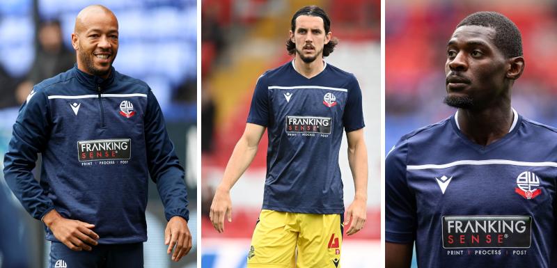 Franking Sense sponsors Bolton Wanderers FC Training Kit for Season 2021/22