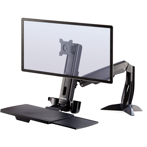Fellowes Easy Glide™ Sit-Stand Work Platform