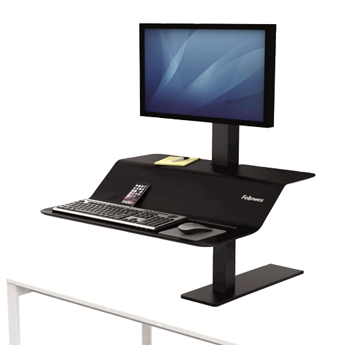 Fellowes Lotus™ VE Sit-Stand Workstation – Single