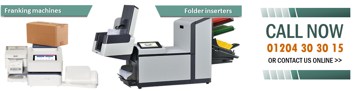 Franking machines and folder inserters