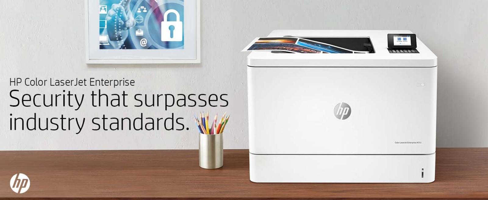 HP Enterprise Laser Printer Security