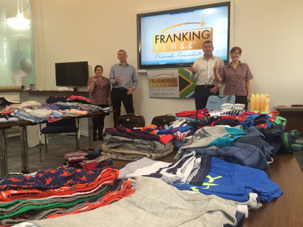 Franking Sense Friends Foundation - South Africa 2016 1
