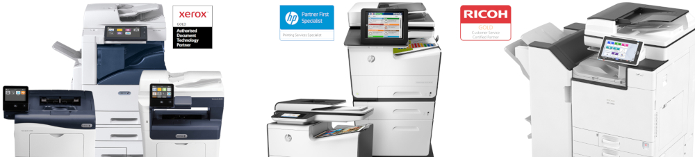 Photocopiers and printers range available at Franking Sense