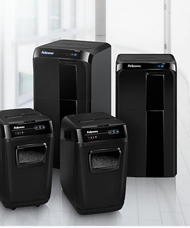 Fellowes Automax shredders range